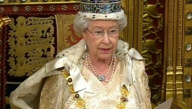 Речь Королевы Великобритании