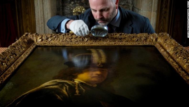 портрет Рембрандта в молодости
