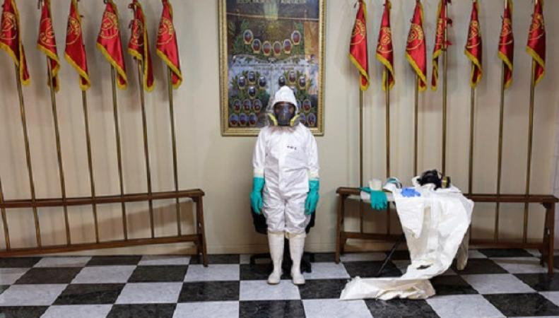 Робот для борьбы с Эболой