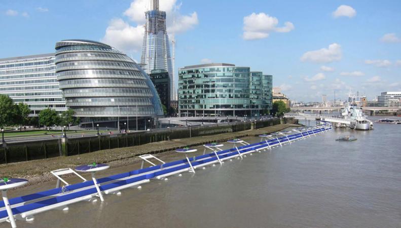велодорожка Thames Deckway