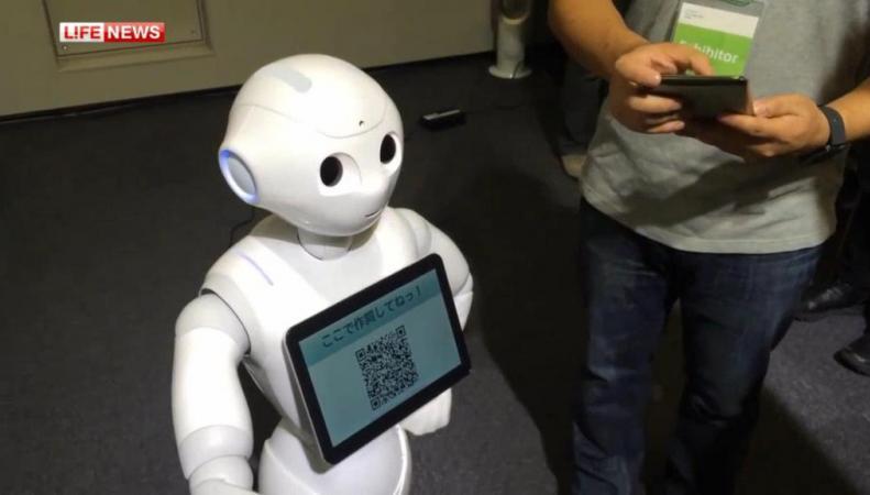 Японский робот-гуманоид