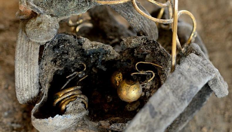 римский клад в Колчестере