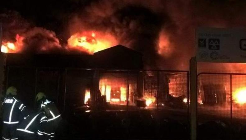 пожар в Ромфорде