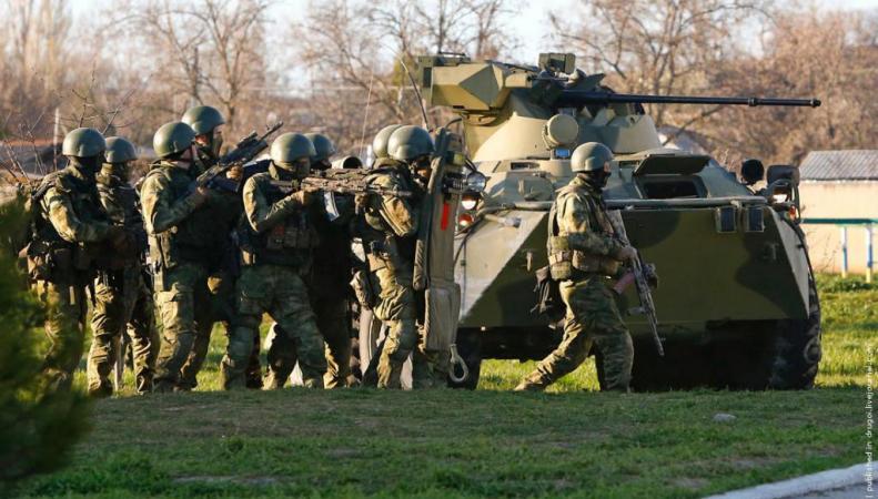 Россия свою причастность к поставкам на Украину вооруженных формирований и оружия