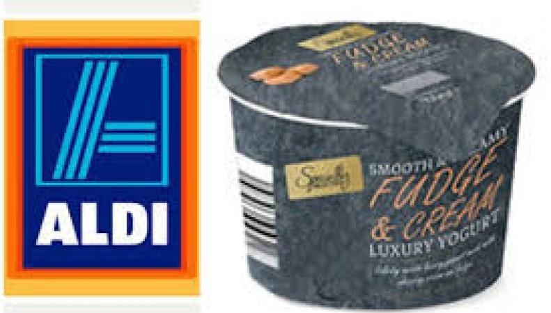 опасные йогурты в Aldi