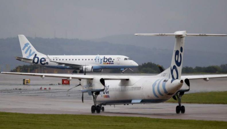 самолеты в ливрее Flybe