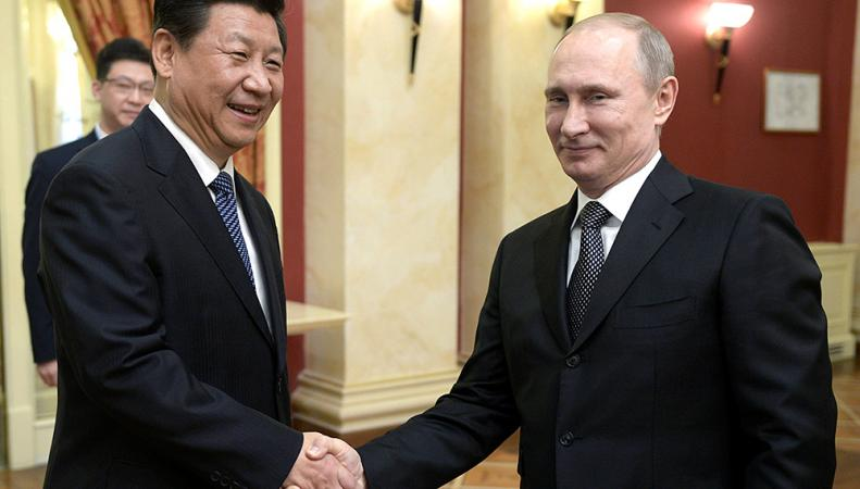 Путин: Я не сомневаюсь в успешном сотрудничестве РФ и Китая