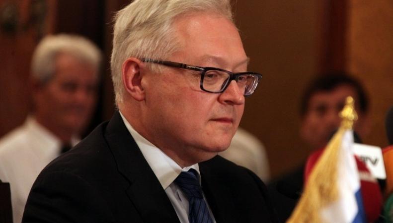заместитель министра иностранных дел Сергей Рябков