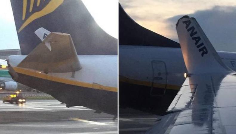 авиаинцидент Ryanair