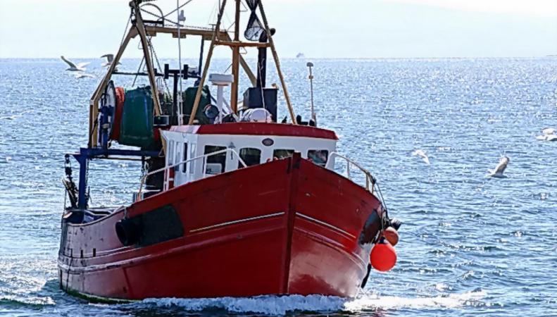 Рыболовецкое судно Шотландии