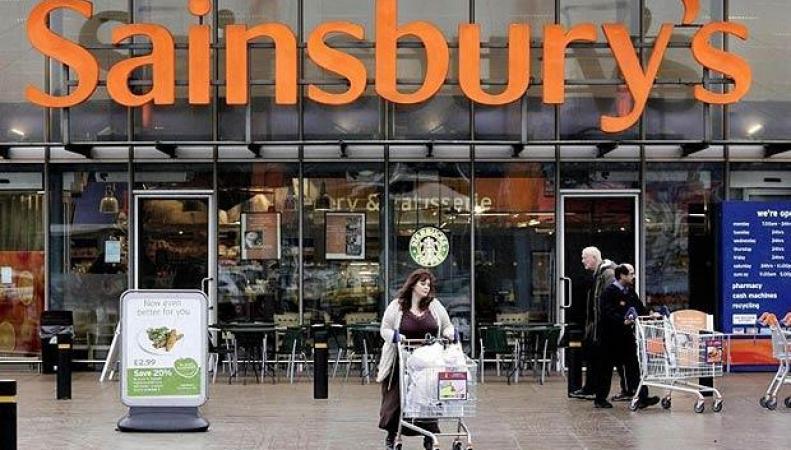 магазин сети Sainsbury`s