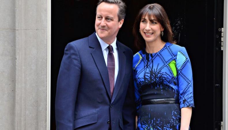 Саманта Кэмерон показывает нам, как правильно выглядеть