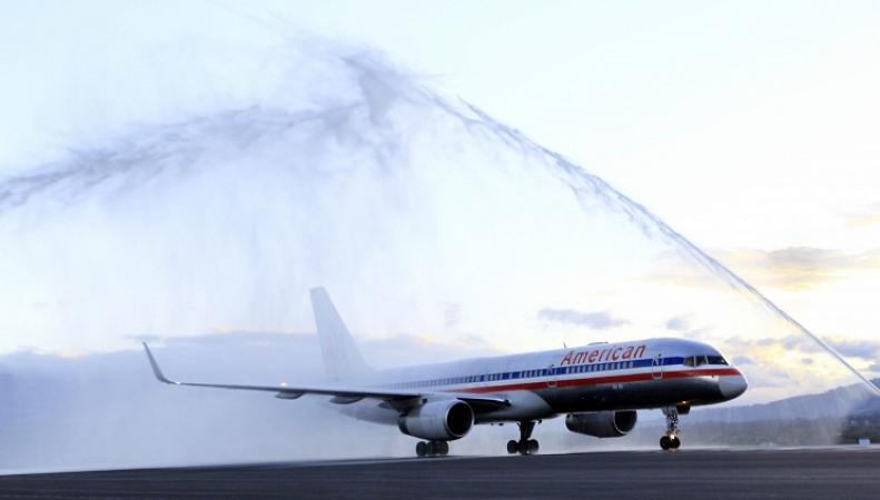 Пассажирский самолет США