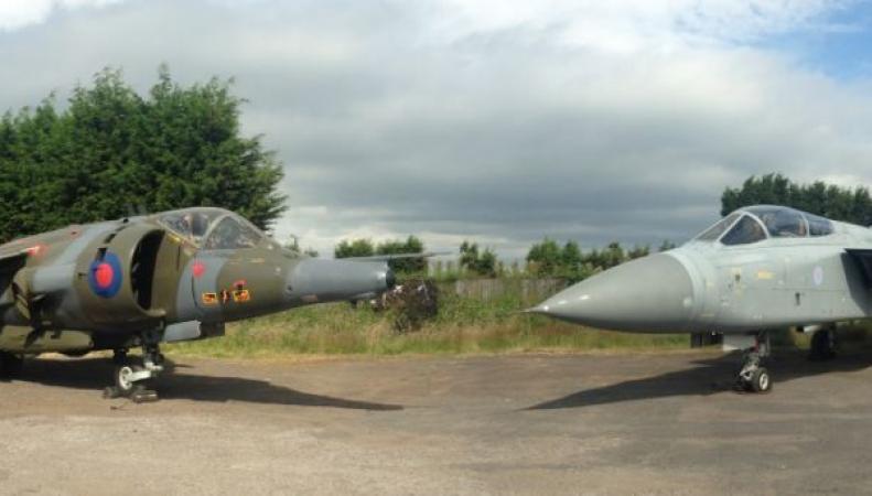 Боевые самолеты Великобритании, проданные на аукционе