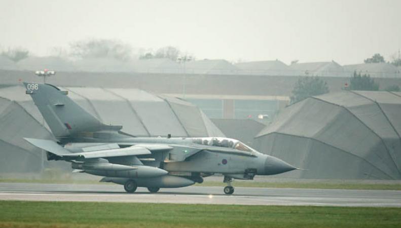самолеты ВВС Великобритании