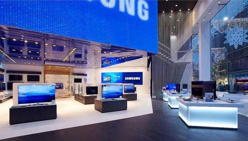 торговый зал Samsung