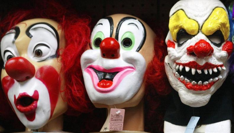 маски клоунов