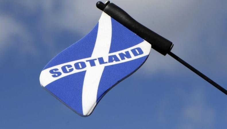 шотландский флаг