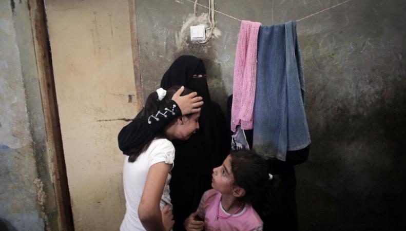 Семья в секторе Газа