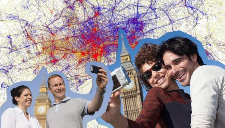 Создана селфи-карта Великобритании