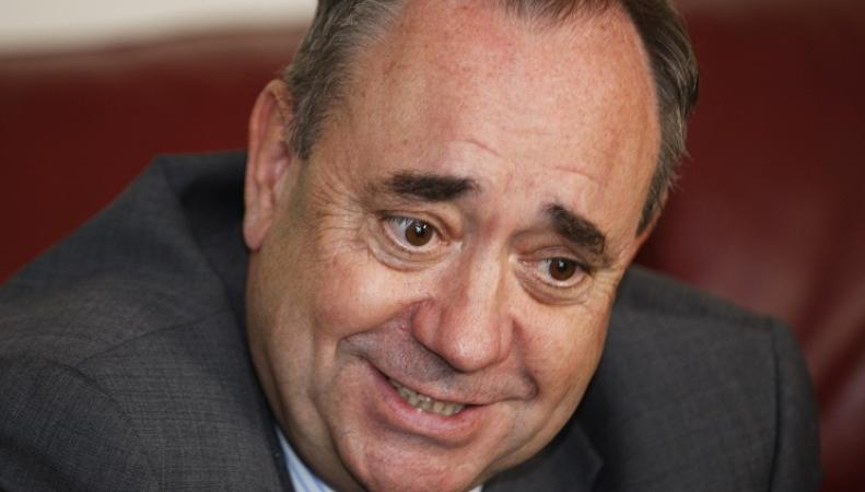 Алекс Сэлмонд, первый министр Шотландии