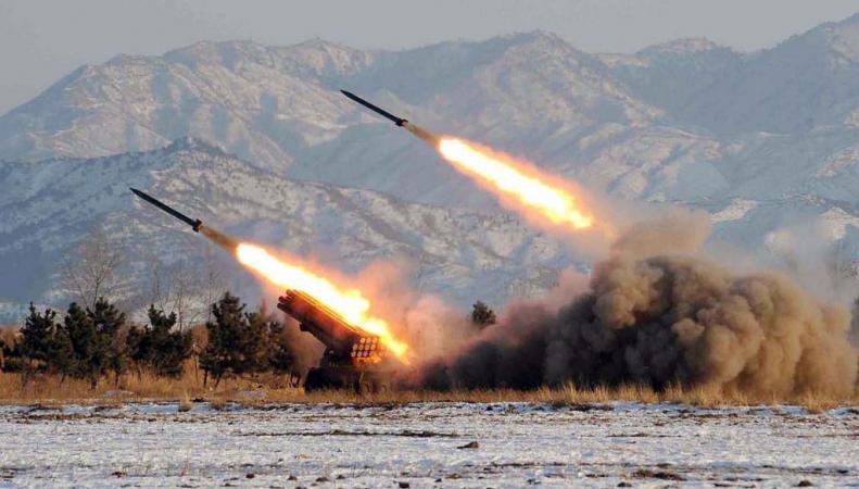 Запуск ракет Северной Кореей