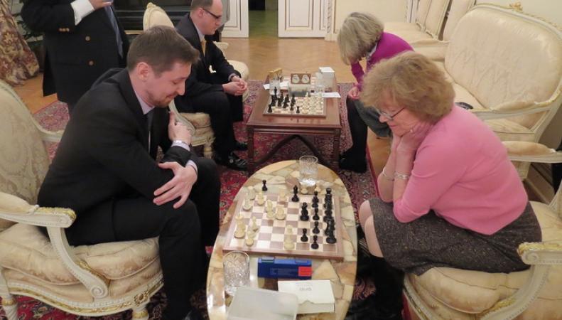 Сборные Посольства и Реформ-клуба провели шахматный матч