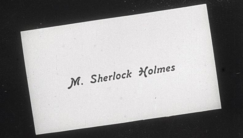 Утерянный фильм о Шерлоке Холмсе