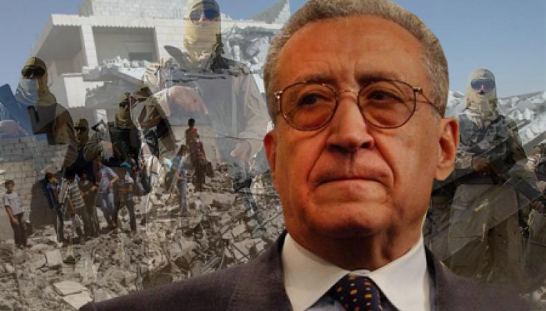 Лахдар Брахими, специальный представитель ООН и Лиги арабских государств по Сирии принял решение покинуть свой пост 31 мая этого года