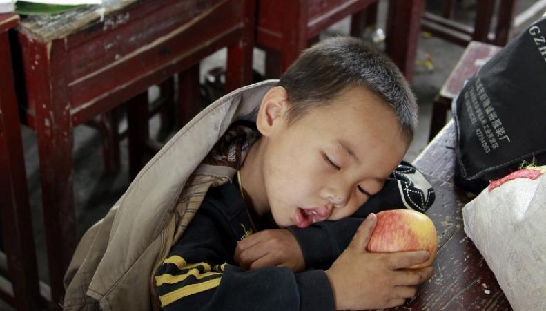 Китайски школьник