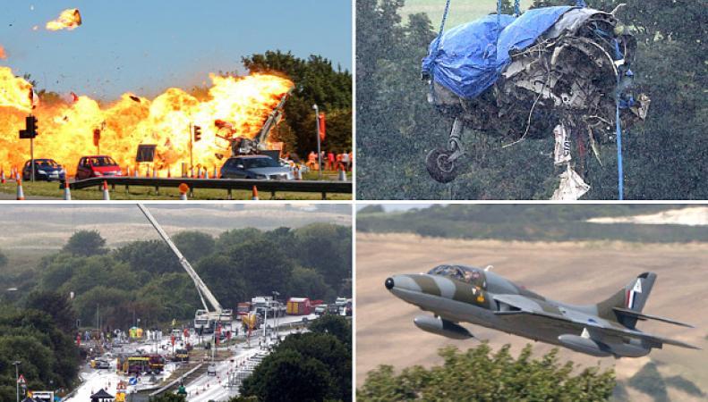 авиакатастрофа в Шорехэм