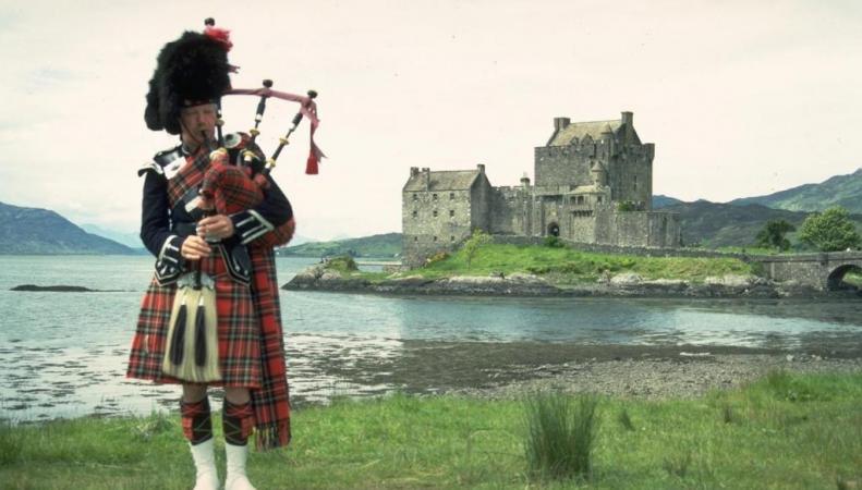 традиционный шотландский костюм