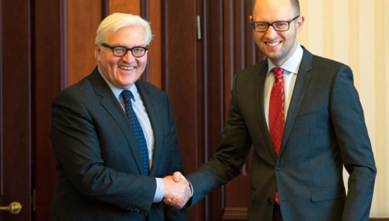 Берлин ищет дипломатическое решение конфликта на Украине