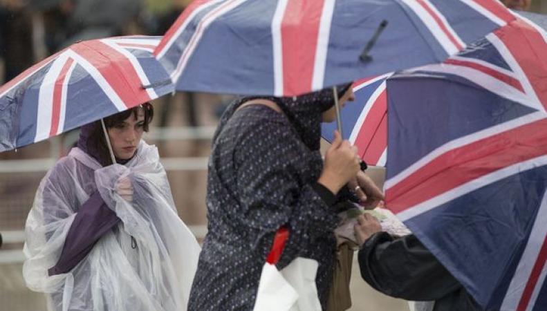 Иностранные туристы в Лондоне
