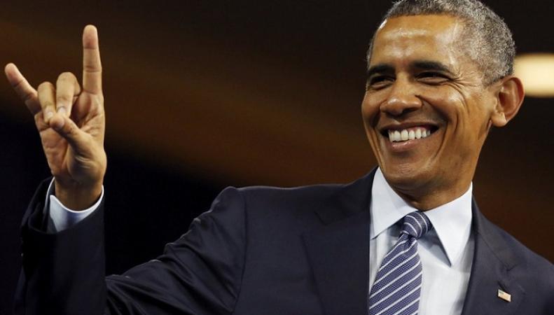 Барак Обама споет в британской группе