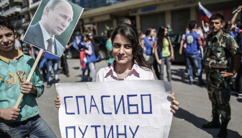 Победу в сирийской кампании заочно присудили Путину