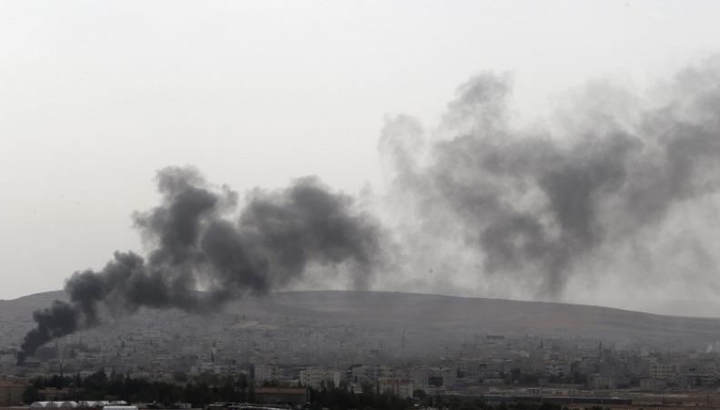 """Столкновения между курдами и """"Исламским государством"""""""