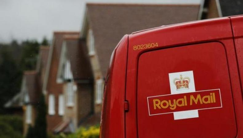 фургон Royal Mail