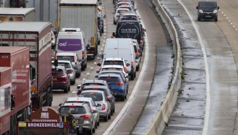 Вредные выхлопы от дизельных автомобилей