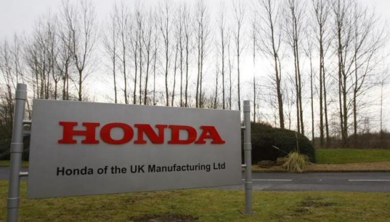 Завод Honda в Суиндоне
