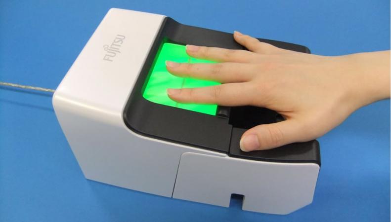 Биометрический сканер по венозному рисунку