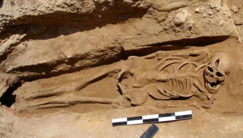 скелеты, позднеримский период, Британия, археология