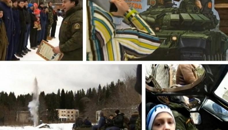 Россияне предпочитают отдыхать в военных лагерях