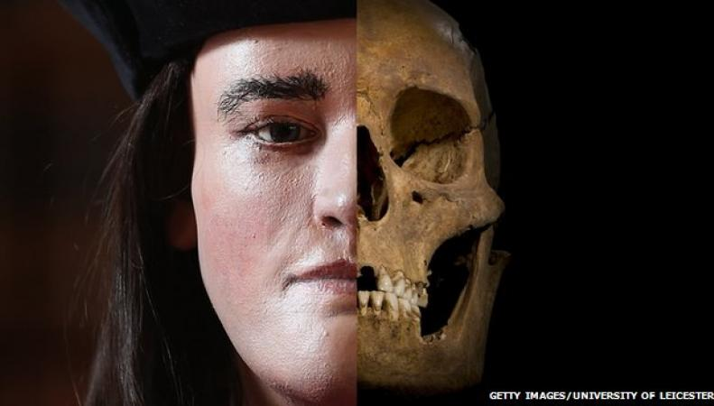 реконструкция черепа Ричарда III