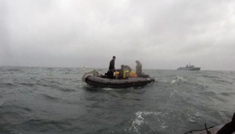 саперы в море