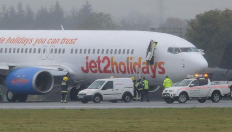 инцидент с самолетом Jet2