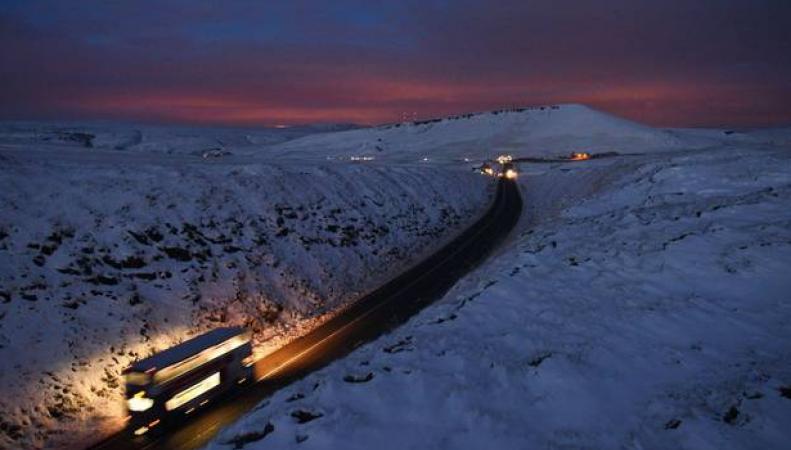 Снежная Шотландия