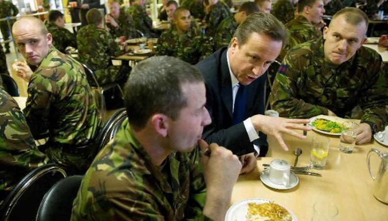 ожирение у солдат действующей армии