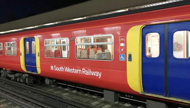 поезд SWR