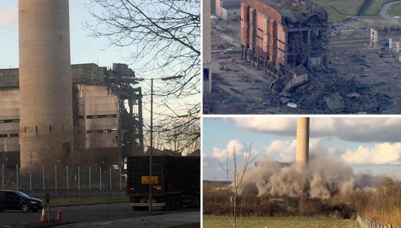 авария на электростанции в Дидкоте